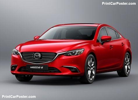 Mazda 6 Sedan 2017 poster