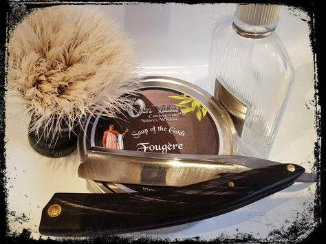One of the finest Fougere's that I have had the privilege to shave with..    #arewenotgods