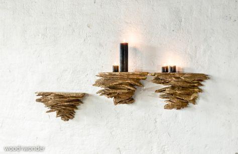 Sitz-Sideboard aus gekalktem Kirschbaum | Massivholzmöbel | Pinterest