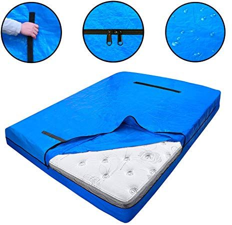 Dofilachy Heavy Duty Mattress Bags For Moving And Storage Reusable Mattress Protection Cover Bag K In 2020 Moving And Storage Twin Mattress Size Mattress Protector