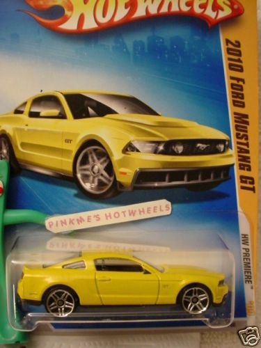 2009 HOT WHEELS NEW MODELS 2010 FORD MUSTANG  GT