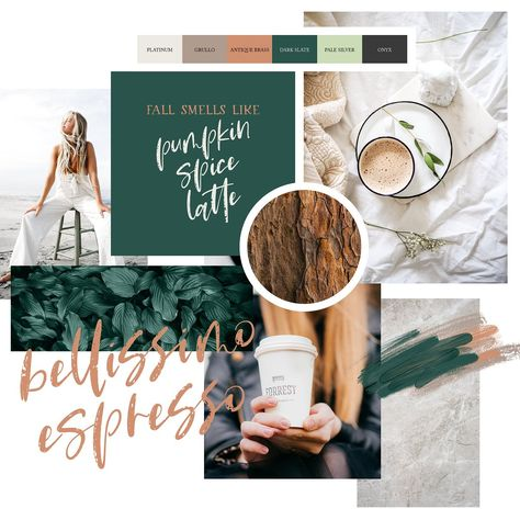 Pumpkin Spice Latte | Brush Script by Inky Jar Design Studio on @creativemarket
