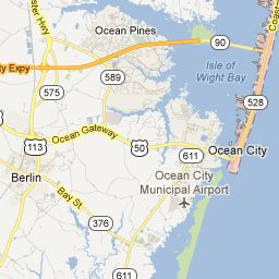 Ocean City Maryland Map For The Home Pinterest Ocean City - Ocean city md map