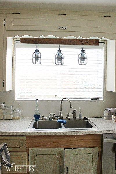Lighting Above Kitchen Sink Inspiration Kitchen Sink Decor Kitchen Sink Lighting Light Above Kitchen Sink