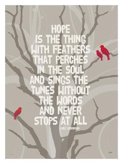 Hope Is The Thing Giclee Print By Lisa Weedn In 2020 With Images