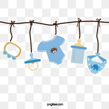 Baby Blue Lovely Clothing Clothes Clipart Bottle Scarf Toy Paper Style Hanging Png Transparent Clipart Image And Psd File For Free Download Baby Clip Art Baby Boutique Logo Craft Images