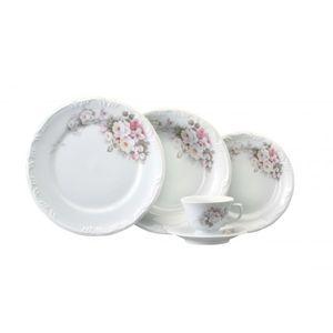 Conjunto Jantar Cha 30 Pecas Eterna Porcelana Schmidt Em 2020