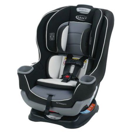 Graco Extend2fit Convertible Car Seat Ride Rear Facing Longer Gotham Walmart Com In 2020 Baby Car Seats Car Seats Best Convertible Car Seat