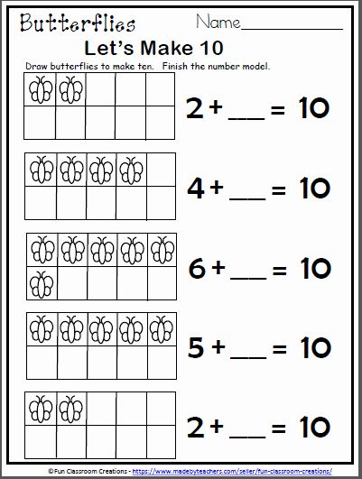 Worksheet For Kindergarten Free In 2020 First Grade Math Worksheets Kindergarten Math Worksheets Kindergarten Worksheets