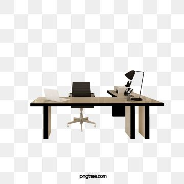 Modern Office Table And Chair Modern Office Table Png Transparent Clipart Image And Psd File For Free Download Office Table And Chairs Modern Office Table Table Lamp Office