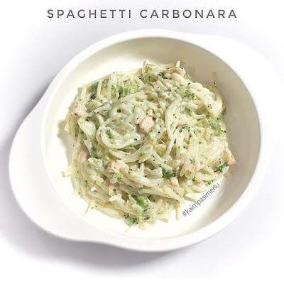 Resep Spaghetti Carbonara With Salmon And Broccoli By Le Petit Kai Resep Masakan Resep Ayam Resep