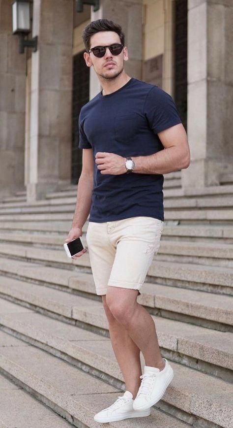 How To Wear Striped Shorts 2 Ways In 2020 With Images Mens Fashion Summer Men S Summer Fashion Trends Mens Summer