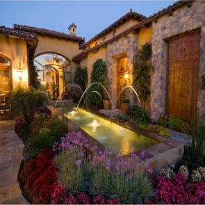 Pin By Butool Khan On Water Features Fountains In 2019 Mediterranean Homes Style Home Decor