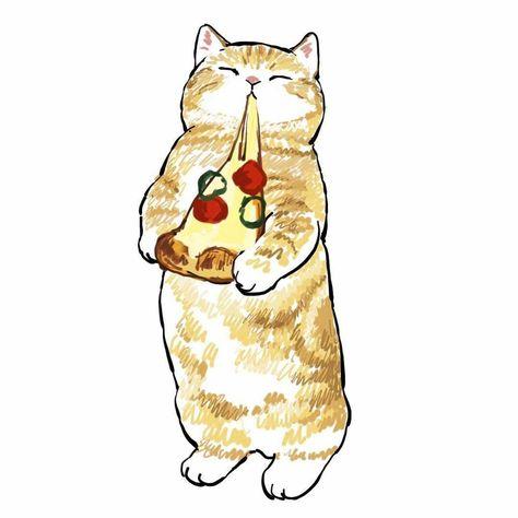 Kittens Cutest, Cute Cats, Kawaii Illustration, Cat Illustrations, Watercolor Paintings Abstract, Hindu Art, Cat Drawing, Cute Baby Animals, Animal Drawings