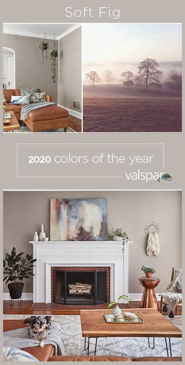 """""""This sophisticated, lavender-hued neutral allows us to appreciate the beauty in every space. One of 12 Valspar 2020 Colors of the Year: Winter Calm at… Paint Colors For Living Room, Paint Colors For Home, My Living Room, House Colors, Home And Living, Neutral Living Room Colors, Neutral Kitchen Colors, Calming Paint Colors, Office Paint Colors"""