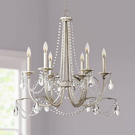 Home Decorators Collection Canterbury Park 6 Light Chrome Crystal Chandelier 29360 HBU The Home Depot