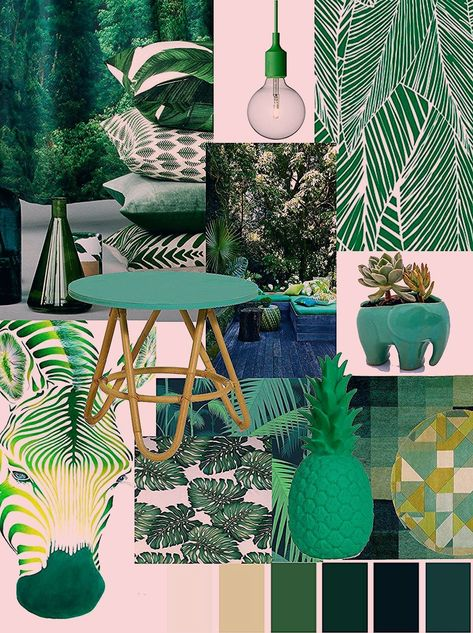 [On aime] Spring trend book: 5 deco and colorful atmospheres. - Between zen and deco @