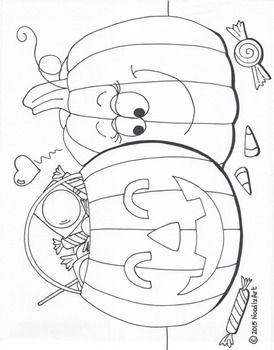 Halloween Coloring Page Bundle By Noodlzart Teachers Pay Teachers Coloring Pages Cute Coloring Pages Bat Coloring Pages