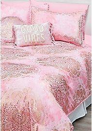 Medallion 7 Piece Bed In A Bag Queen Size 16370817 Bed For Girls Room Tween Girls Bedding Girls Comforter Sets