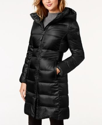 Calvin Klein Hooded Puffer Coat Black S Puffer Coat Women Clothes Sale Coats For Women