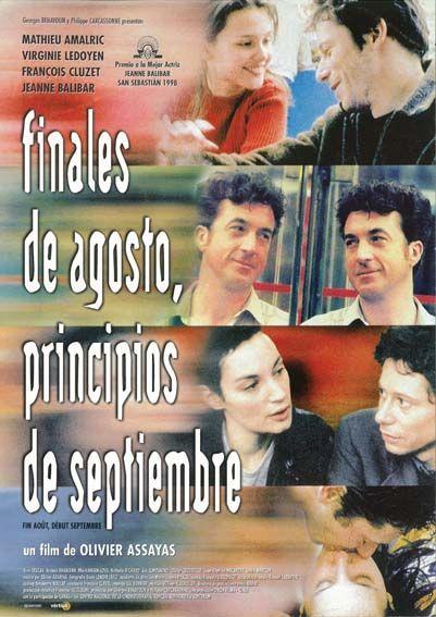 Finales De Agosto Principios De Septiembre 1998 Tt0167925 C Esp Carteles De Cine Cine Finales