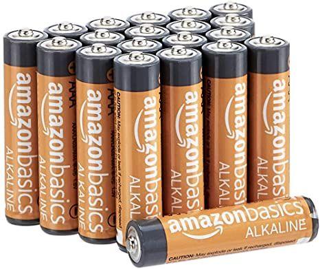 Amazonbasics 36 Pack Aaa High Performance Alkaline Batteries 10 Year Shelf Life Alkaline Battery Battery Pack Led Puck Lights
