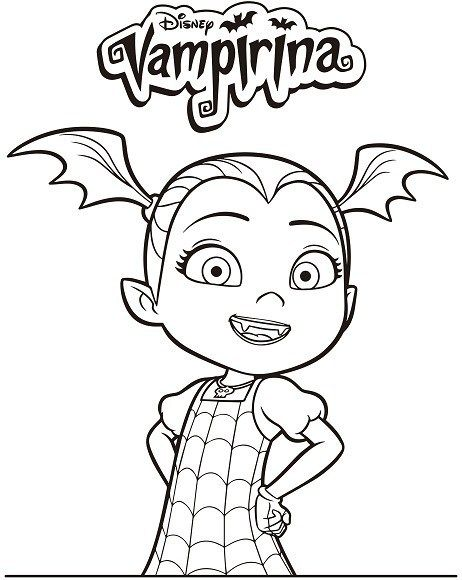Vampirina Dibujos Para Imprimir Y Colorear Todo Peques Disney Coloring Pages Halloween Coloring Halloween Coloring Pages