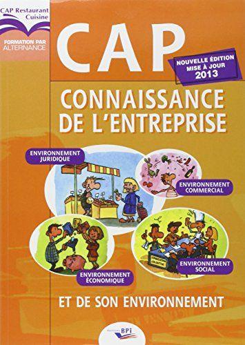 Telecharger Cap Connaissance De L Entreprise Pdf Et Epub Le Livres Entreprise Environnement Connaissance Telechargement