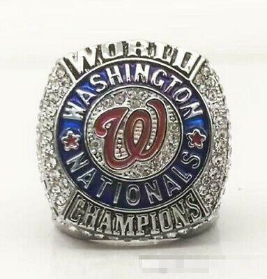 Washington 2019 Nationals World Series Champions Baseball Team Championship Ring In 2020 Championship Rings Washington Nationals Super Bowl Rings