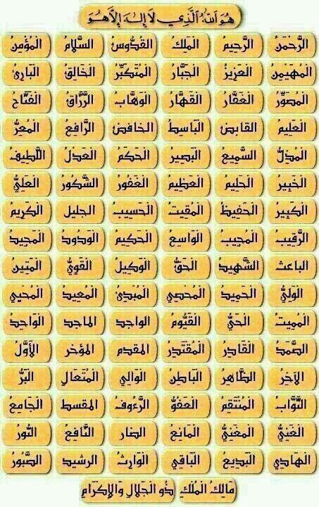 ختمات ختمة اسماء الله الحسنى 5 Islamic Phrases Quran Quotes Inspirational Quran Quotes Love