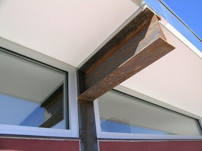 Steel Post And Beam Construction Steel Posts And Beams In 2020 Post And Beam Steel House House Design