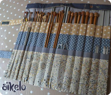 range aiguilles et matériel de tricot