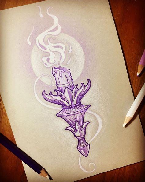 Backpiece Tattoo, Et Tattoo, Candle Tattoo, Lantern Tattoo, Tattoo Sketches, Tattoo Drawings, Art Sketches, Future Tattoos, Tattoos For Guys