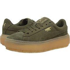 PUMA Suede Platform Trace | Puma suede, Suede, Shoes
