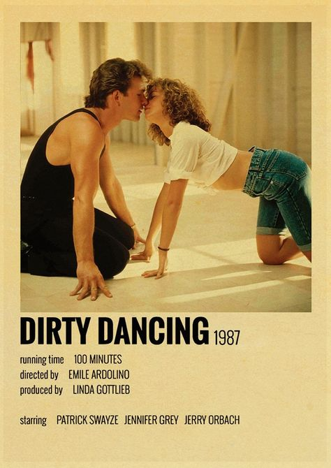 Back To College 35 Types of Classic Movie Posters Film Details Dirty Dancing Outer Banks Kill Bill Retro Poster Art Painting Room Bar Cafe Decor - 30X21CM-24 / Q012
