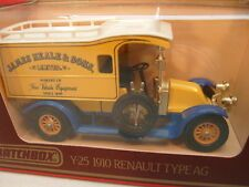 MATCHBOX MODELS OF YESTERYEAR 1:38 Y-25 1910 RENAULT AG