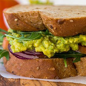 Avocado Salad Sandwich Recipe Avocado Recipes Recipes Food