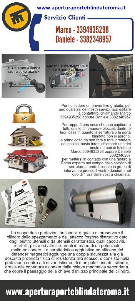 Mejores 9 imágenes de Apertura Porte Blindate Roma en Pinterest ...