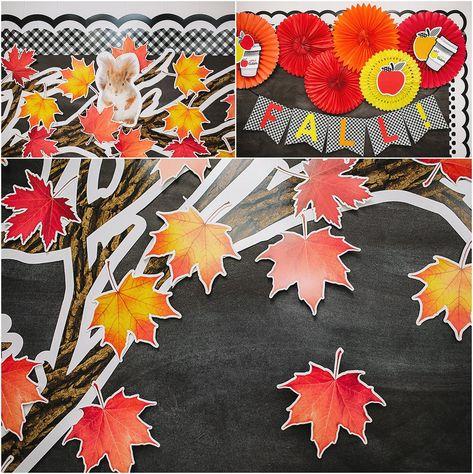 Schoolgirl Style -  Let's Celebrate ALL THINGS FALL! ZOOM CLASSROOM Background
