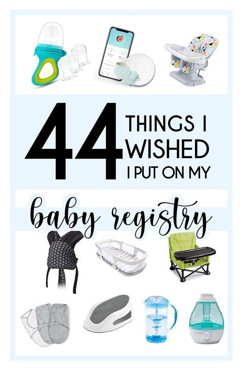 Now that both of my babies are here, I have registry regrets! Here is a list of 44 things that I wish I added to my registry because these are the items and gadgets that I ACTUALLY use daily with two babies. Baby Registry Items, Baby Registry Must Haves, Baby Registry Checklist, Baby Schedule, Baby Must Haves, Second Baby, First Baby, Baby Items Must Have, Baby Clothes Storage