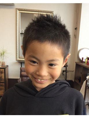 ボード 小学生 髪型 のピン