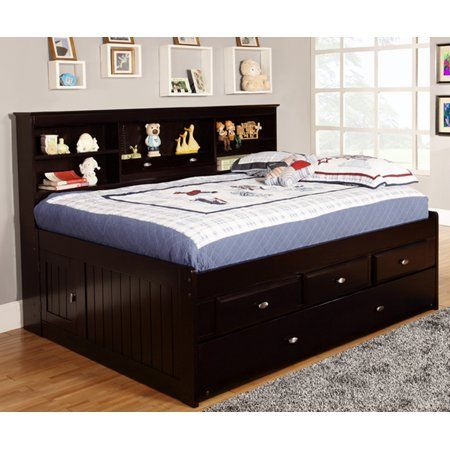 Buy American Furniture Classics Model 2923 K3 Solid Pine Full Daybed With 3 Drawers And Twin Trundle In Esp Daybed Design Daybed With Storage Bed With Drawers