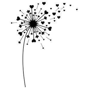 Image Result For Dandelion Free Svg Files For Cricut Dandelion Art Dandelion Cricut