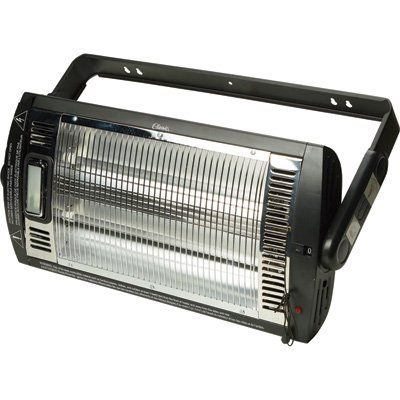 Profusion Heat Ceiling Mounted Workshop Heater With Halogen Light 5200 Btu 1500 Watts Model Hq1500 Northe Garage Heater Workshop Heater Halogen Lighting
