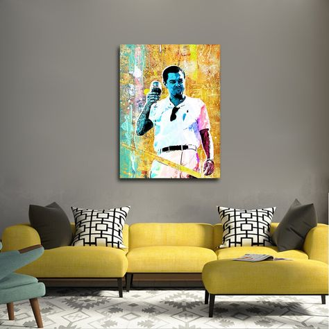 Cheers The Wolf Of Wall Street Canvas Wall Art In 2020 Canvas Wall Art Wolf Of Wall Street Wall Art