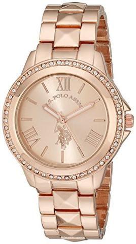 the best attitude fa51a 64336 U.S. Polo Assn. Women's USC40078 Rose Gold-Tone Bracelet ...