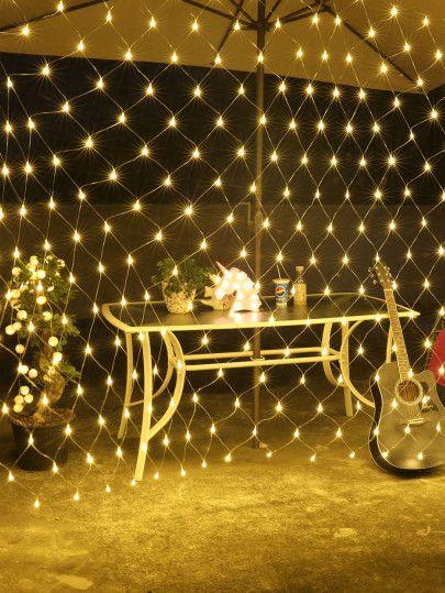 Shein All Home Christmas Net Lights Outdoor Christmas Lights Net Lights