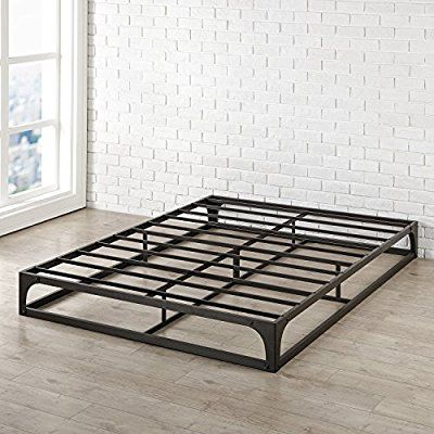 Amazon Com Best Price Mattress Queen Bed Frame 9 Metal Platform