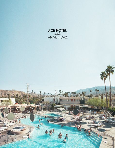 The Ace Hotel in Palm Springs is kind of like a blogger haven. It simply oozes that easy breezy, not-trying-too-hard cool factor that you just can't fake. Not having had the opportunity thus far to see it for myself, I'm glad we have talented folks like Anais   Daxwho can bring us along virtually. Check…