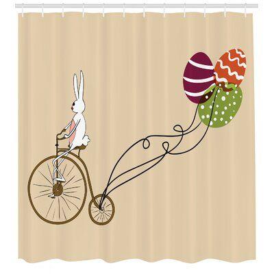 East Urban Home Shower Curtain Set Hooks Shower Curtain Sets